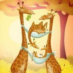 Glade Giraf – relations kompetence forløb for mor og far.