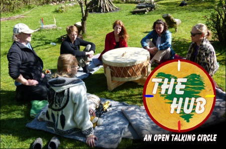 The Hub – Open talking circle