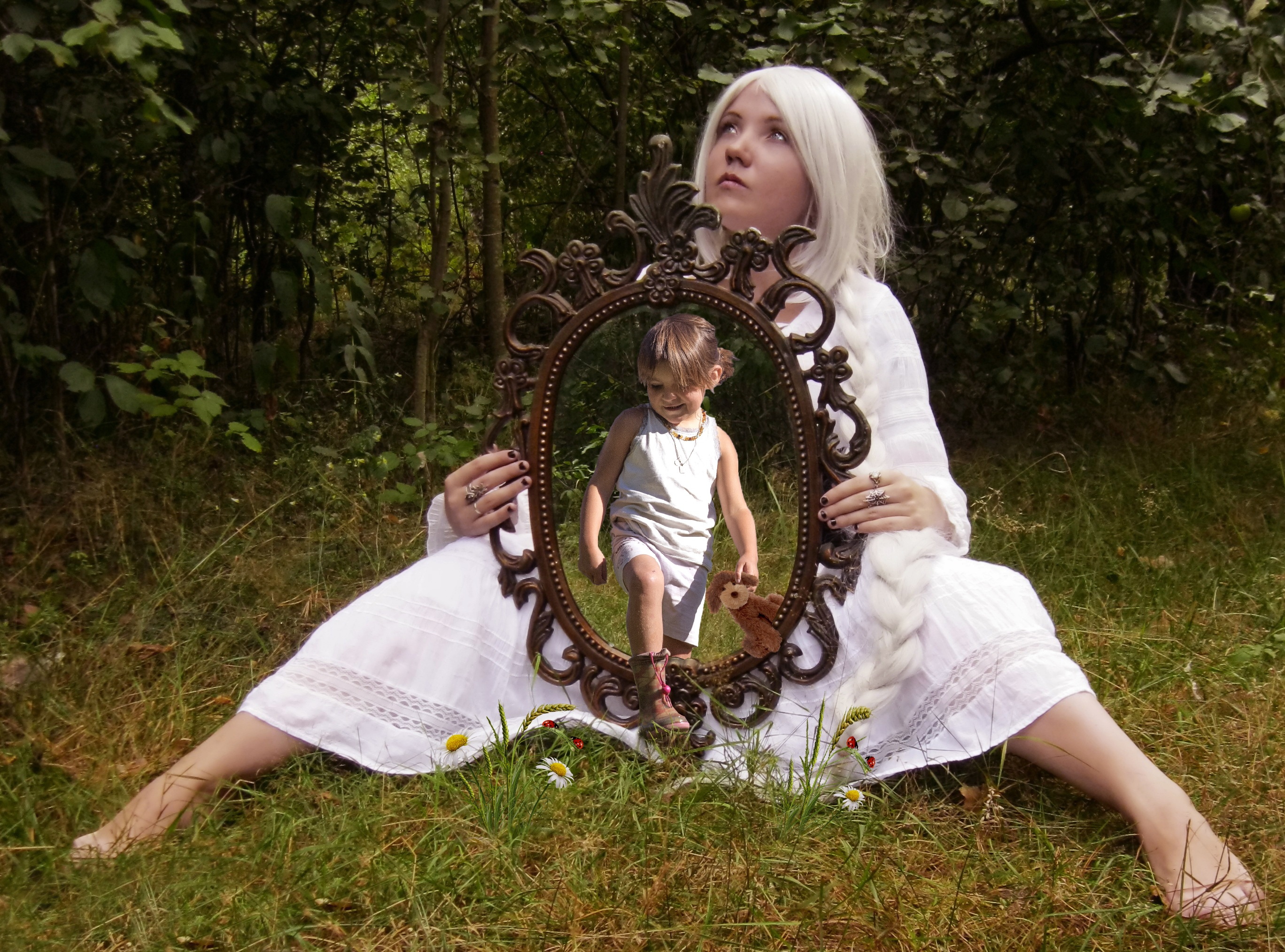 Nogle gange har vi brug for et velfungerende spejl